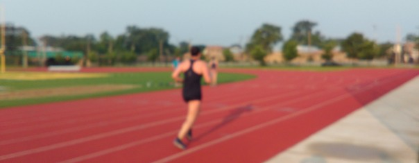 Imagine that speed, not shoddy camera work, caused the blur. That is not me BTW. I dont blur. . .yet.